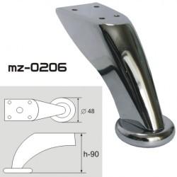 Опора мебельная mz-0206