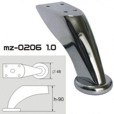 Опора мебельная mz-0206 1.0